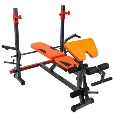 Adjustable Weightlifting Bench Press front