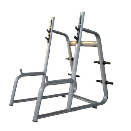 Grey Squat Rack