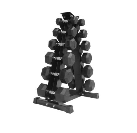 HAJEX 6 tier vertical dumbbells rack