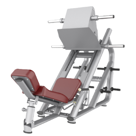 Leg Press Machine Silver