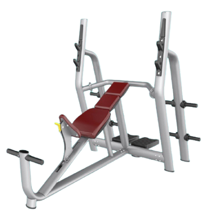 Luxurious Incline Bench side