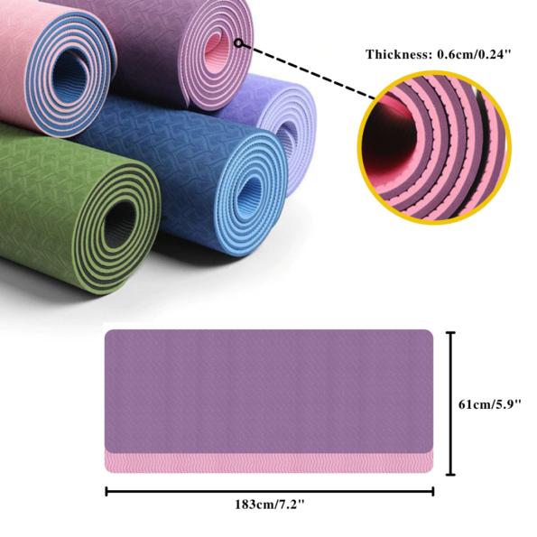 Anti-slip TPE Yoga Mat