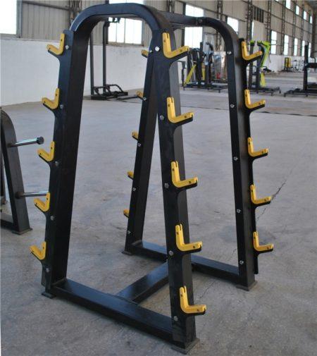 Dark Multi-level Barbells Rack