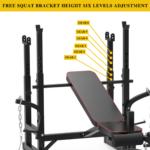 Multifunctional Adjustable Workout Station