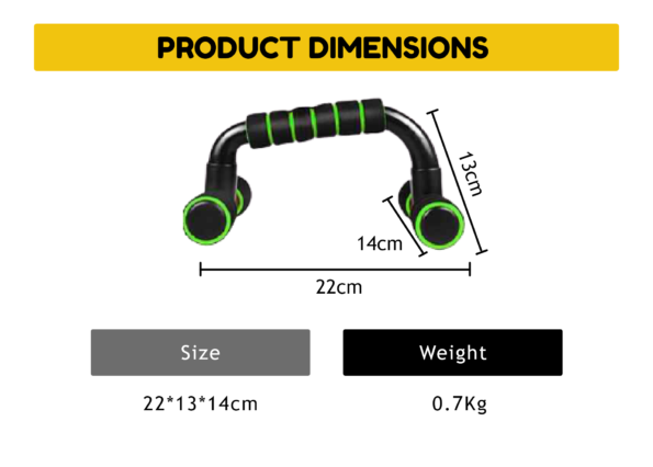 Push Up Stand Green 2