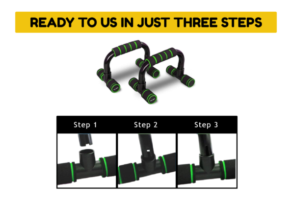 Push Up Stand Green 3