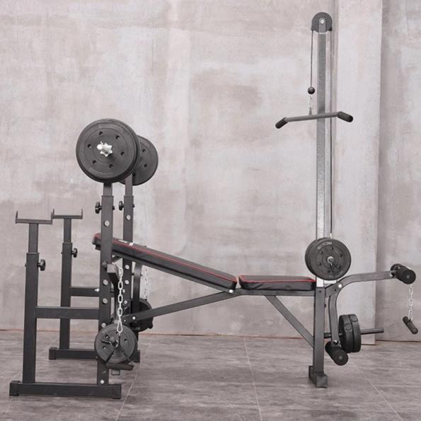 Side of Multifunctional Adjustable Workout Station
