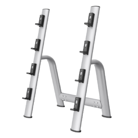 Silver-Barbell-Rack