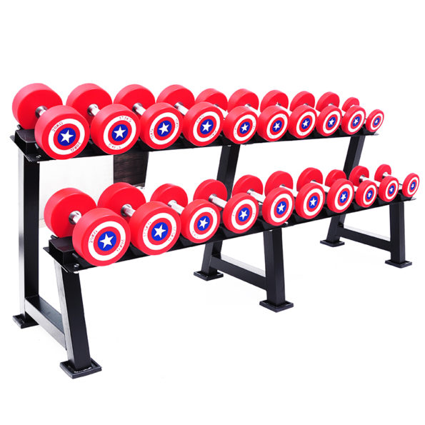 The Great Captain America dumbbell