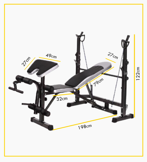 Weight Lifting Bench 5