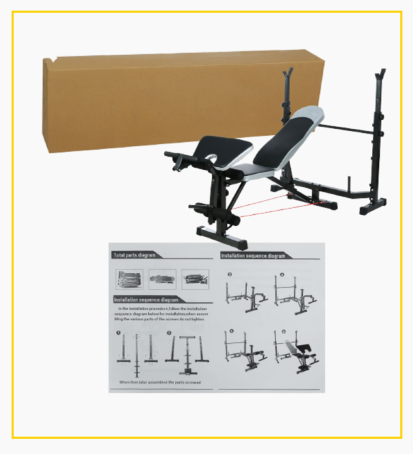 Weight Lifting Bench 8