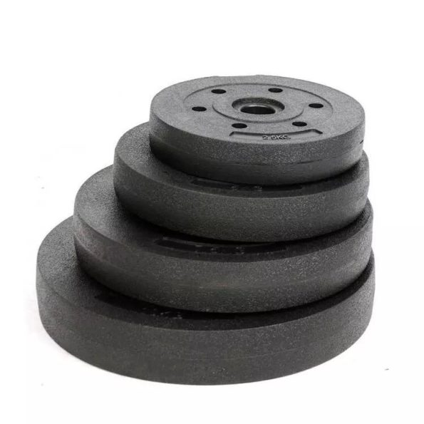 PVC Coated Plastic Weight Plates 30mm stack