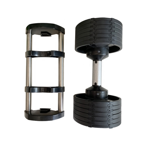 HAJEX Compact Adjustable Dumbbells Set