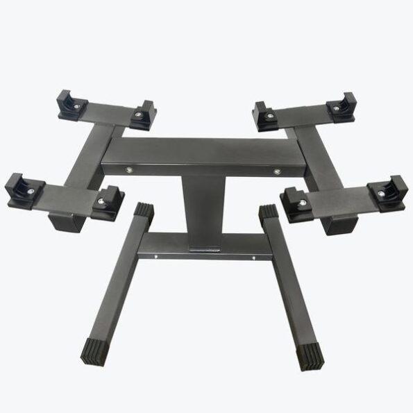 Hajex Adjustable Dumbbell Rack