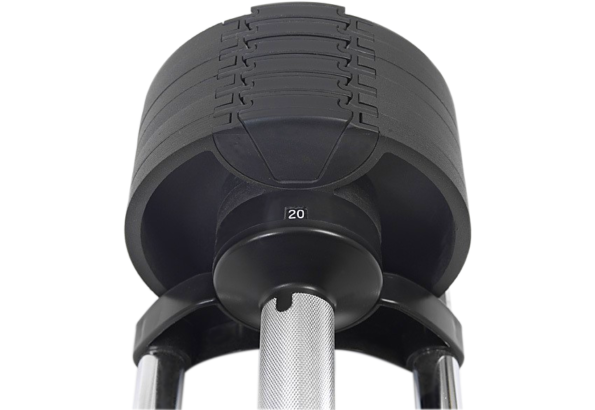 Semi-Commercial Adjustable Weight Lifting Dumbbells Set