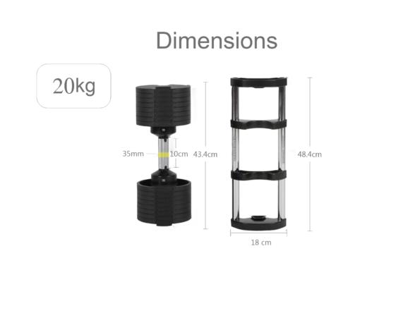 hajex-20kg-adjustable-dumbbell-set-dimensions